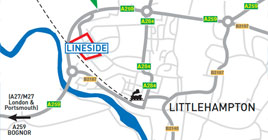lineside local map